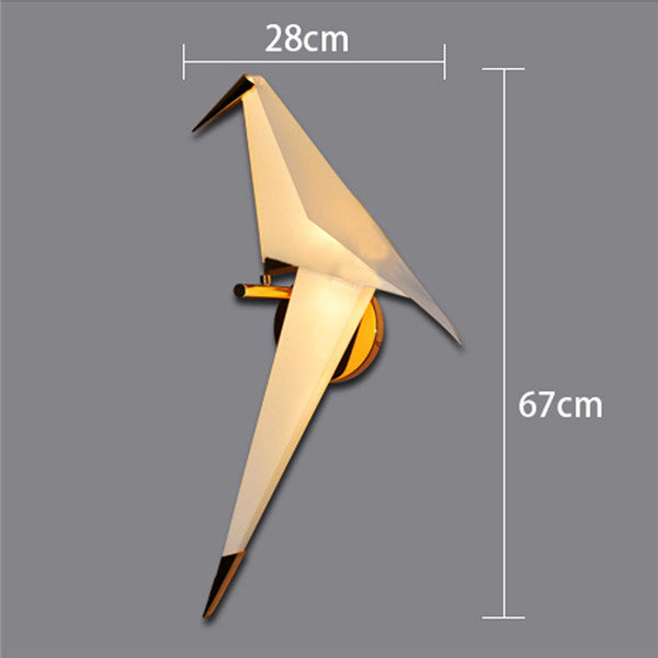 LED Paper Cranes Wall Lamp WL220