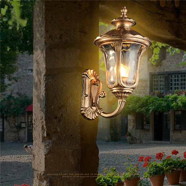 Vintage Antique Iron Wall Lamp WL222 - Cheerhuzz