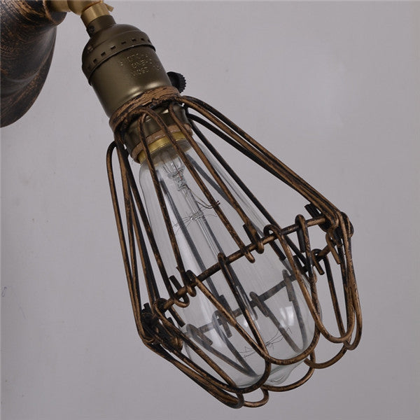 Retro Small Cage Wall Lamps WL224 - Cheerhuzz