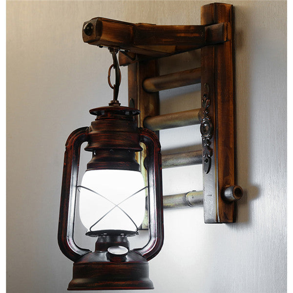 Antique Kerosene Lantern Wall Sconces WL227 - Cheerhuzz