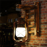 Antique Kerosene Lantern Wall Sconces WL227