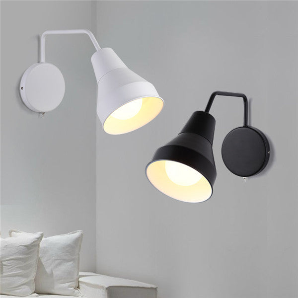Metal White Black Wall Sconces WL231 - Cheerhuzz