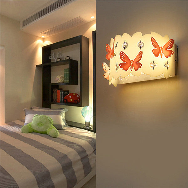 Modern Butterfly LED Wall Light WL240 - Cheerhuzz