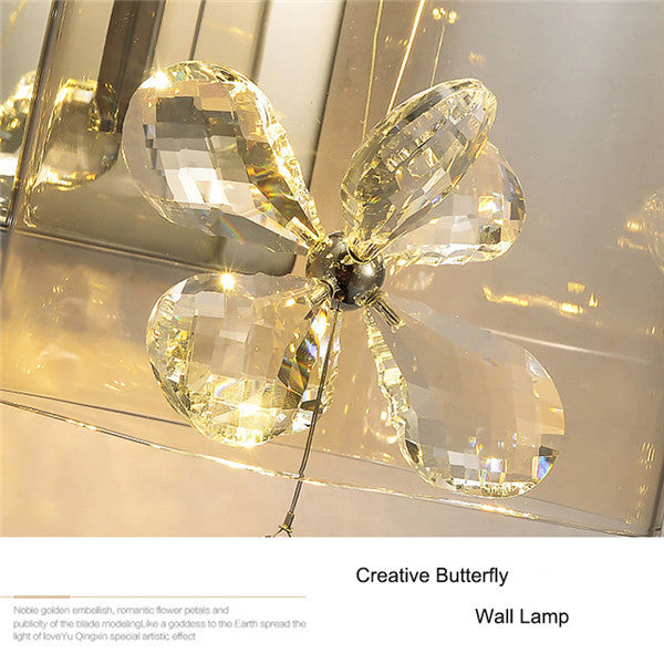 Modern Butterfly Crystal Wall Sconces WL241 - Cheerhuzz