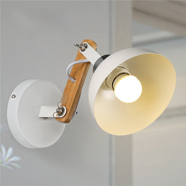 Retro White Metal Aisle Lamp WL248