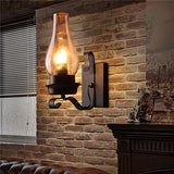 Nordic Rustic Glass Wall Lamp WL250 - Cheerhuzz