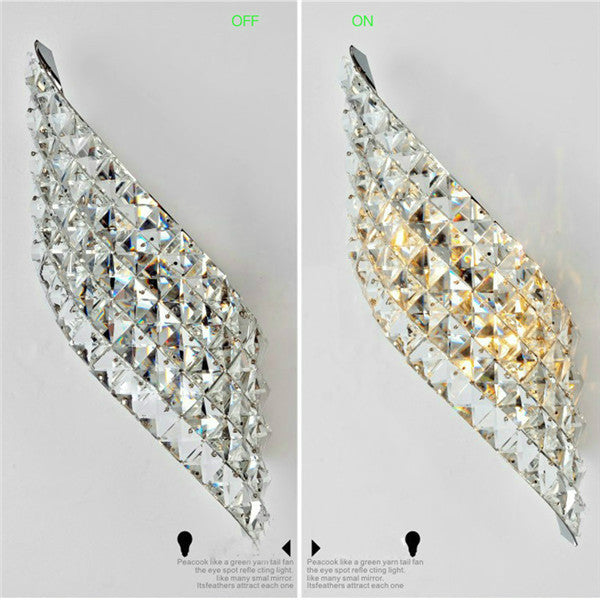 Modern Crystal LED Wall Sconces WL251