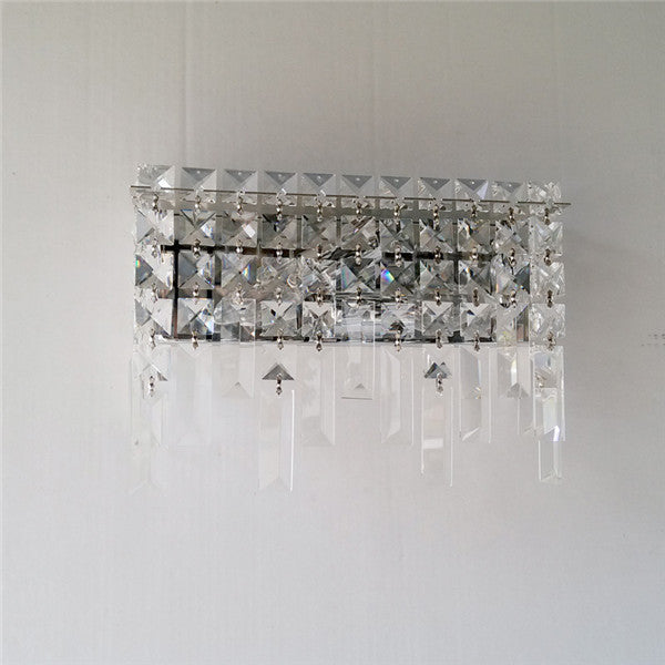 Modern Crystal Metal Wall Sconce WL254 - Cheerhuzz
