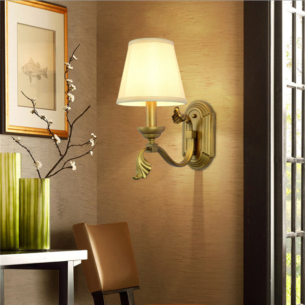 Vintage Copper Metal Wall Lamp WL260 - Cheerhuzz