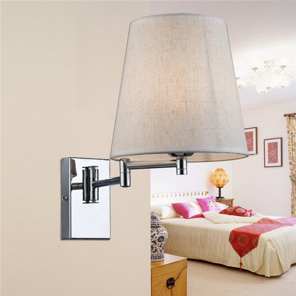 Swing Arm Reading Bedside Lamp WL267 - Cheerhuzz