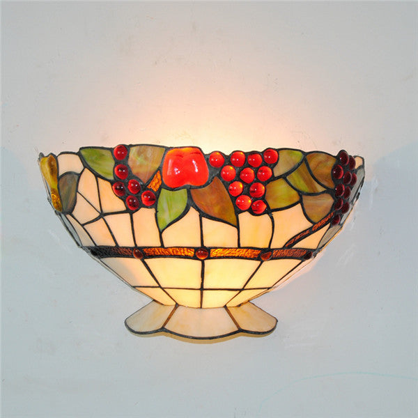 Wall Sconce Stained Glass Fixture WL275 - Cheerhuzz
