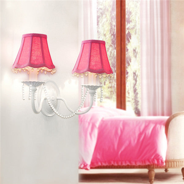 Modern Fabric Shade Wall Light WL278 - Cheerhuzz
