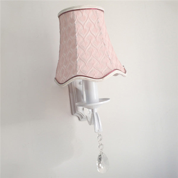 European Pink Wall Sconce WL280