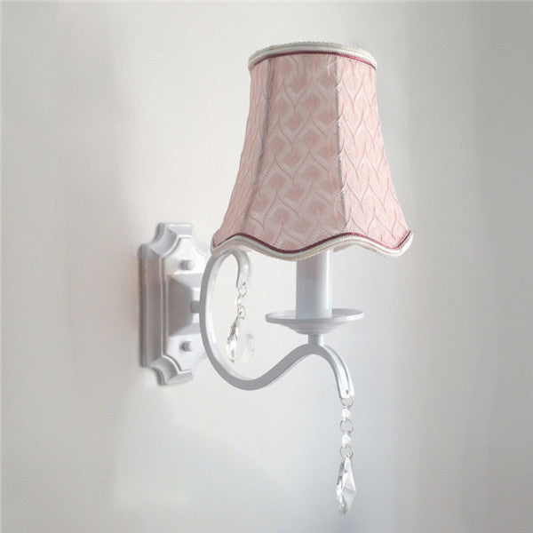 European Pink Wall Sconce WL280 - Cheerhuzz