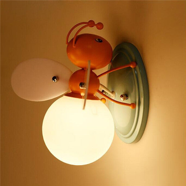 Creative LED Bee Glass Wall Lamp WL285