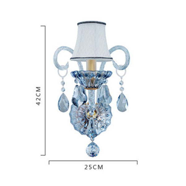 Blue Crystal Wall Sconces WL287 - Cheerhuzz