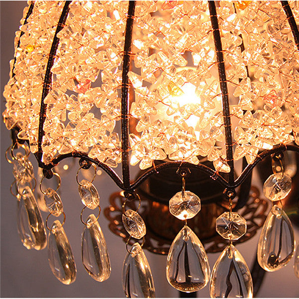 White Crystal Wall Lamps WL294 - Cheerhuzz