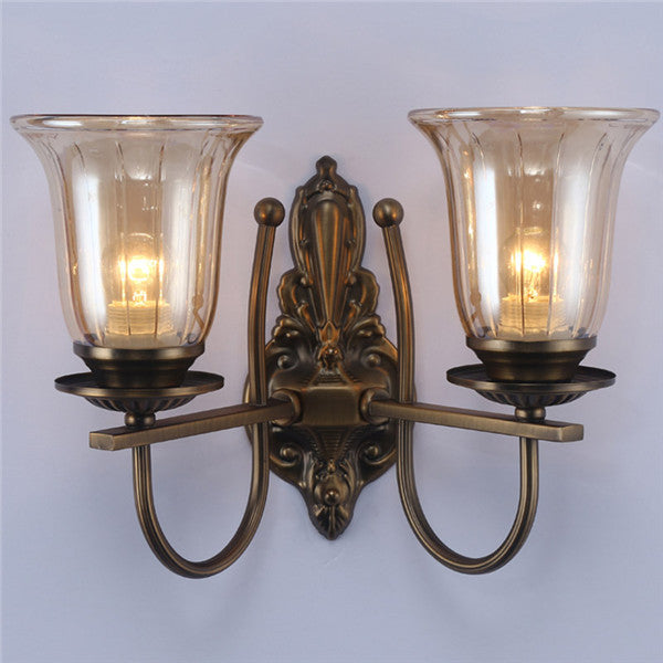 European Style Glass Wall Sconces WL296 - Cheerhuzz