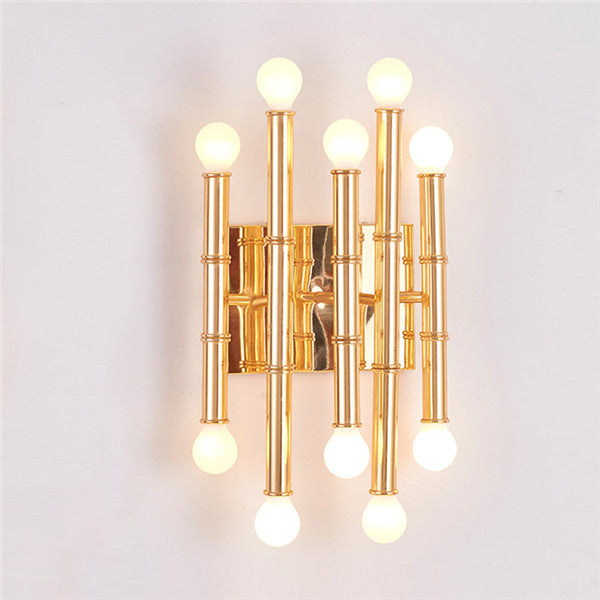 meurice 5arm wall sconce by jonathan adler for robert abbey wl297