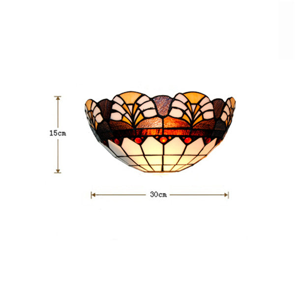 Baroque Lily Flower Wall Light WL309