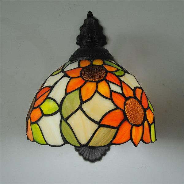 Tiffany Style Sunflower Wall Lamp WL320