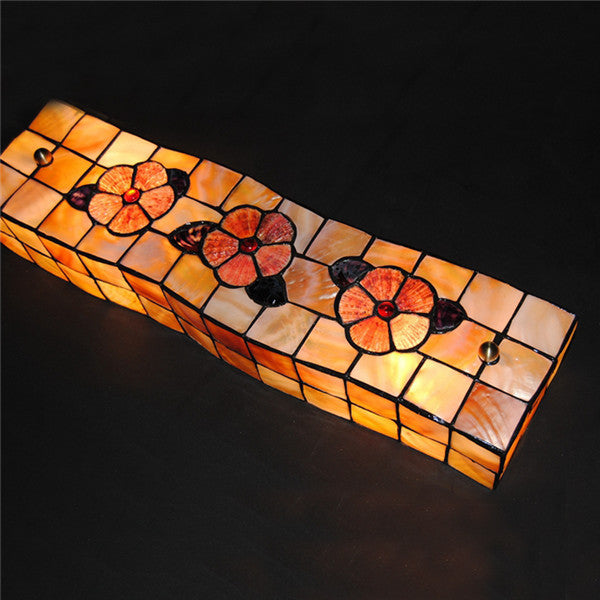 European Floral Cube Mirror Front Light WL328 - Cheerhuzz