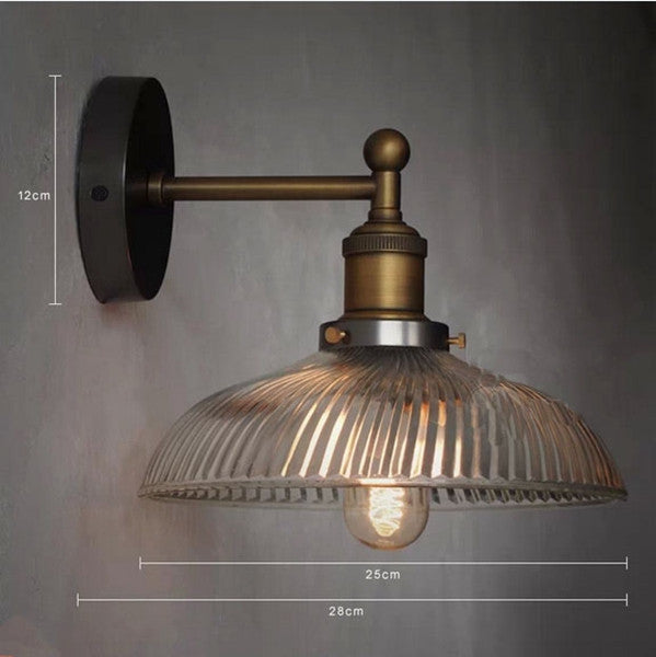 Vintage Industrial Wall Sconce WL88 - Cheerhuzz