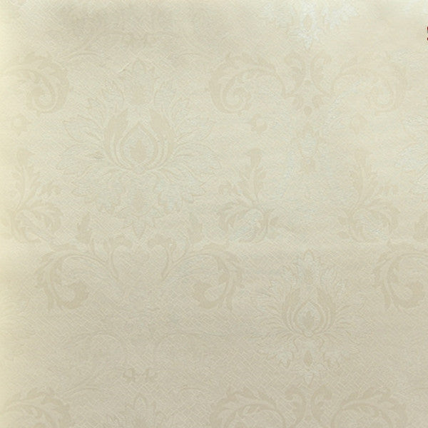Damask Textured Embossed Flocking Wallpaper Roll WP110 - Cheerhuzz