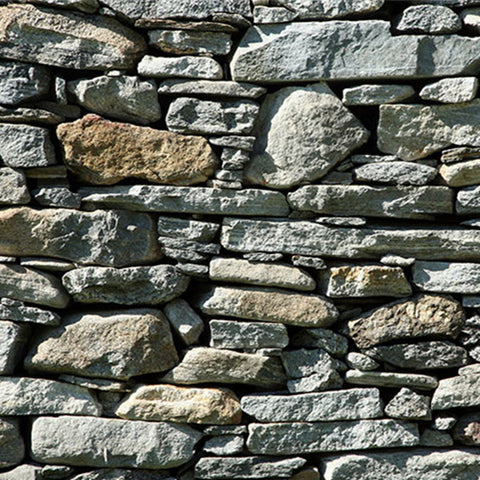 Brick Stacked Stone Wallpaper WP18