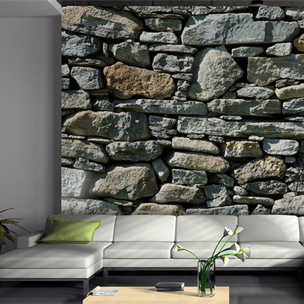 3D STONE EFFECT WALLPAPER ROLL WP131