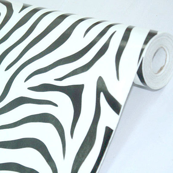 Zebra Figure Prepasted Self-adhesive Wallpaper - Cheerhuzz