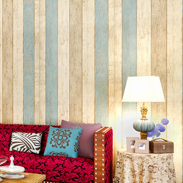Striped Nonwoven Wallpaper WP21