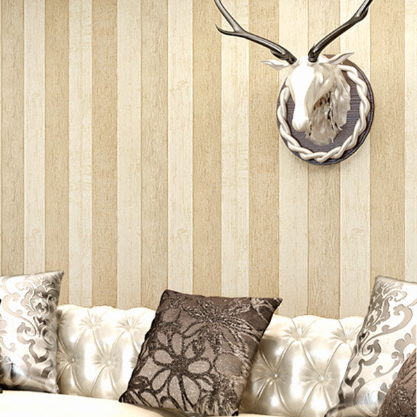 Striped Nonwoven Wallpaper WP21 - Cheerhuzz