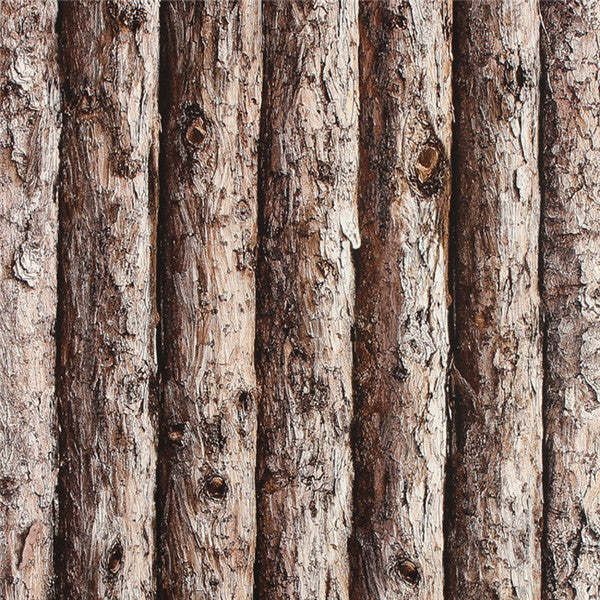 Vintage 3D Wood Wallpaper WP218