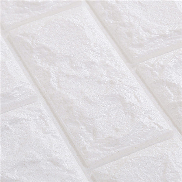 PE Foam 3D Brick Pattern Wallpaper WP220