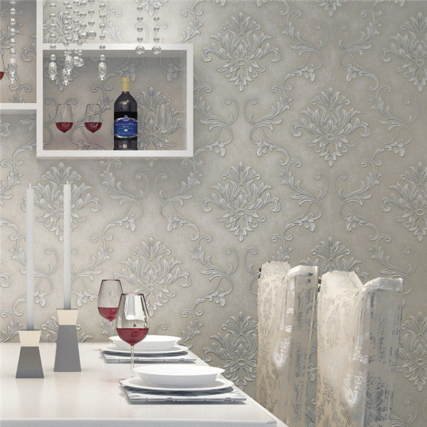 Flocking Embossed Wallpaper WP223