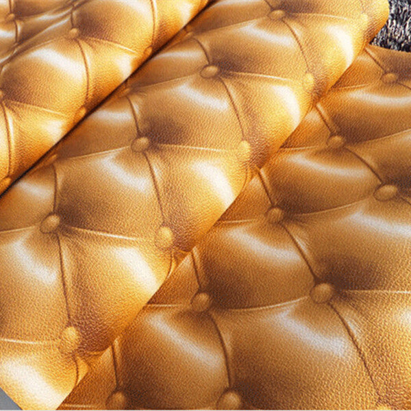 3D Leather Stripe Wallpaper WP26 - Cheerhuzz