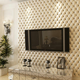 3D Leather Stripe Wallpaper WP26