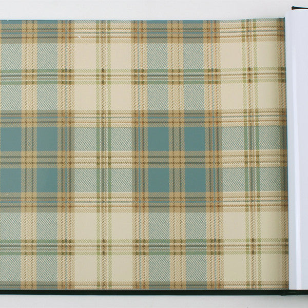 Vintage Plaid Wallpaper WP27