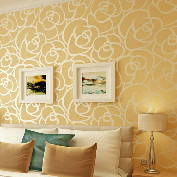 Flocking Textured Classic Modern Wallpaper WP28