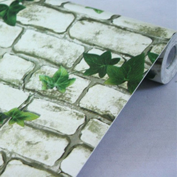 Self adhesive Brick Stone Wallpaper WP48