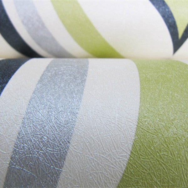 Stripe 10m Non-woven Wallpaper WP50 - Cheerhuzz