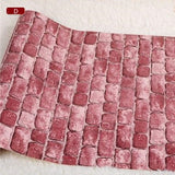 Real Looking 3D Brick Pattern Wallpaper WP60