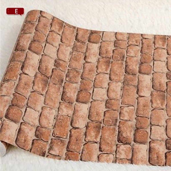 Real Looking 3D Brick Pattern Wallpaper WP60 - Cheerhuzz