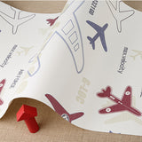 Airplane Childrens' Wallpaper WP85 - Cheerhuzz