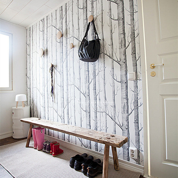Birch Tree Wallpaper by Cole & Sons