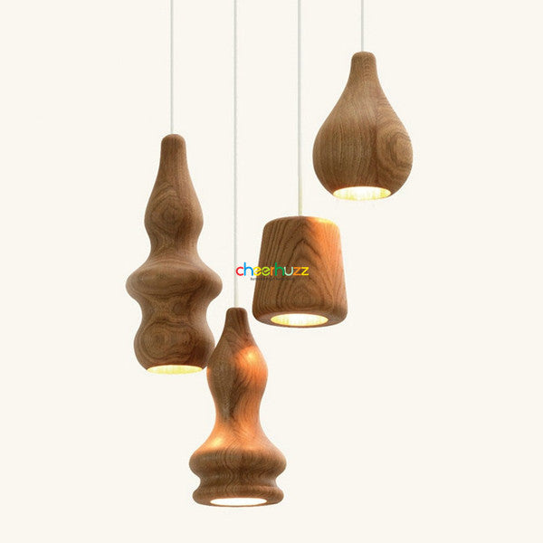 Wooden lamp design by Fermetti PL387