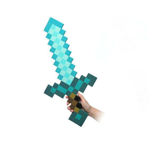 Minecraft Foam Diamond Sword TY001-BLS