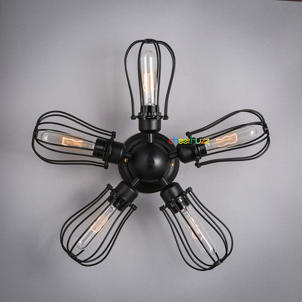 Iron Cage Ceiling Light CL120 - Cheerhuzz
