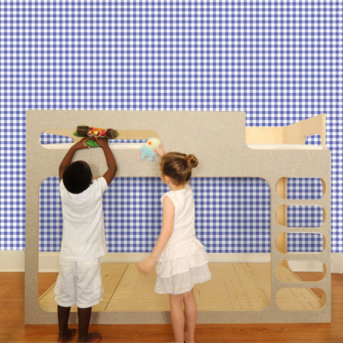 Pop & Lolli Wall Paper - Giddy Gingham WP162 - Cheerhuzz